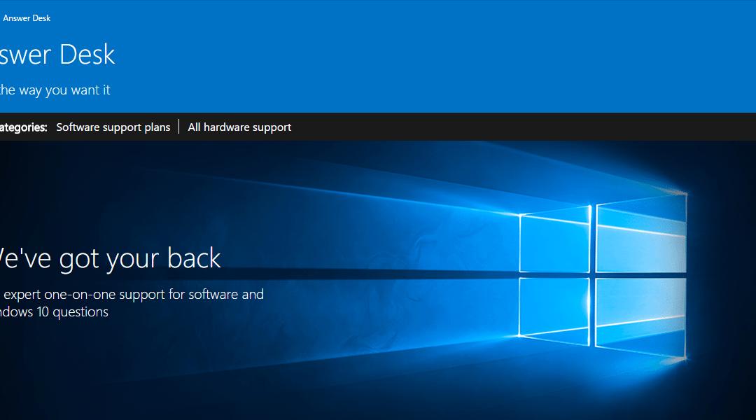 Microsoft Answer Desk, trained monkeys on demand