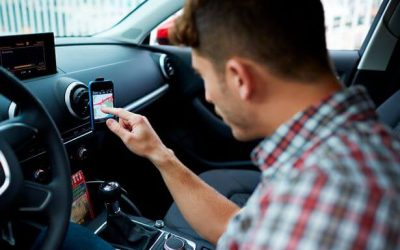 Using your Phone as a SatNav could get you fined