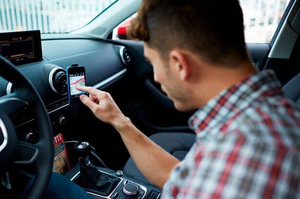Using your Phone as a SatNav could get you fined 4