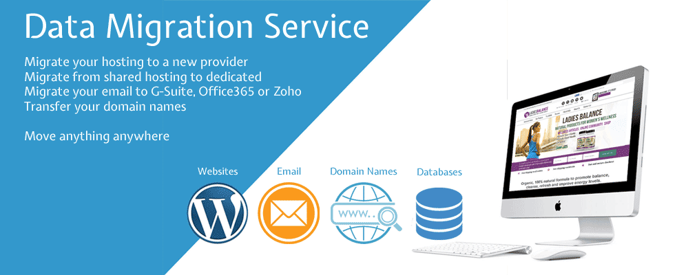 Website migration service kent