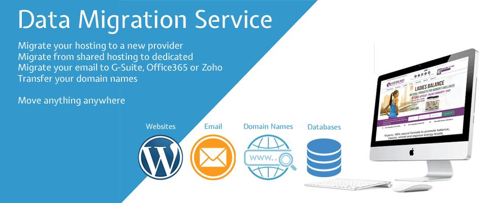 Website migration service kent