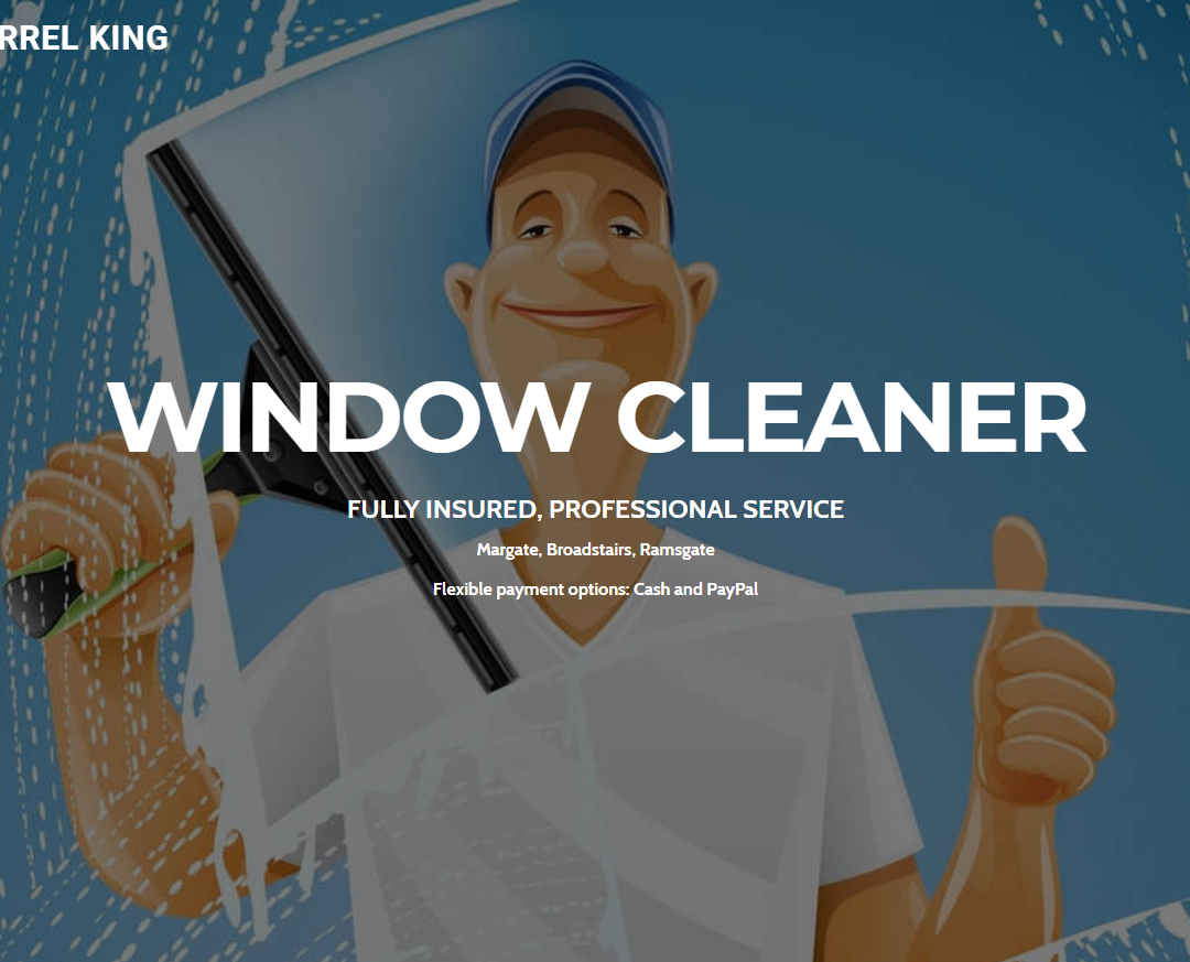 Darrel King – Window Cleaner