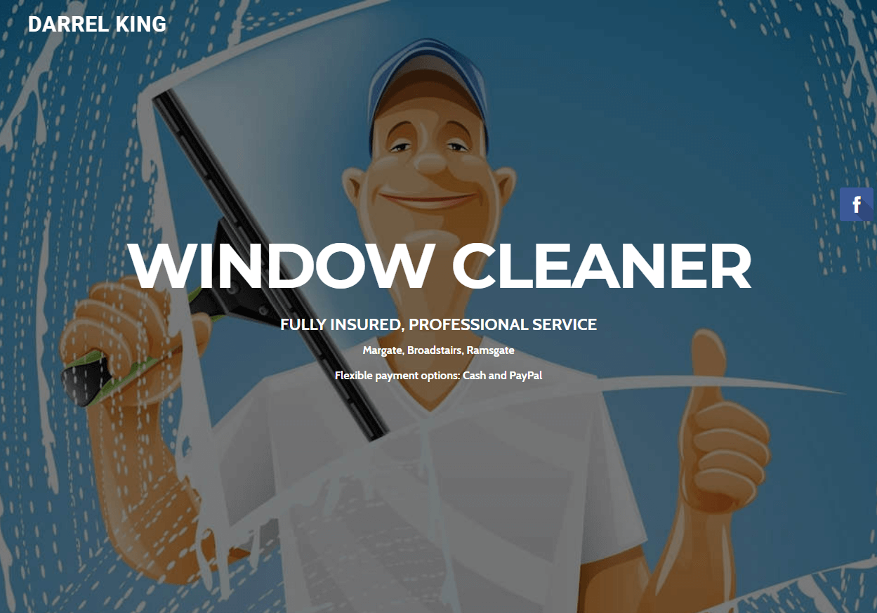 Darrel King - Window Cleaner 1