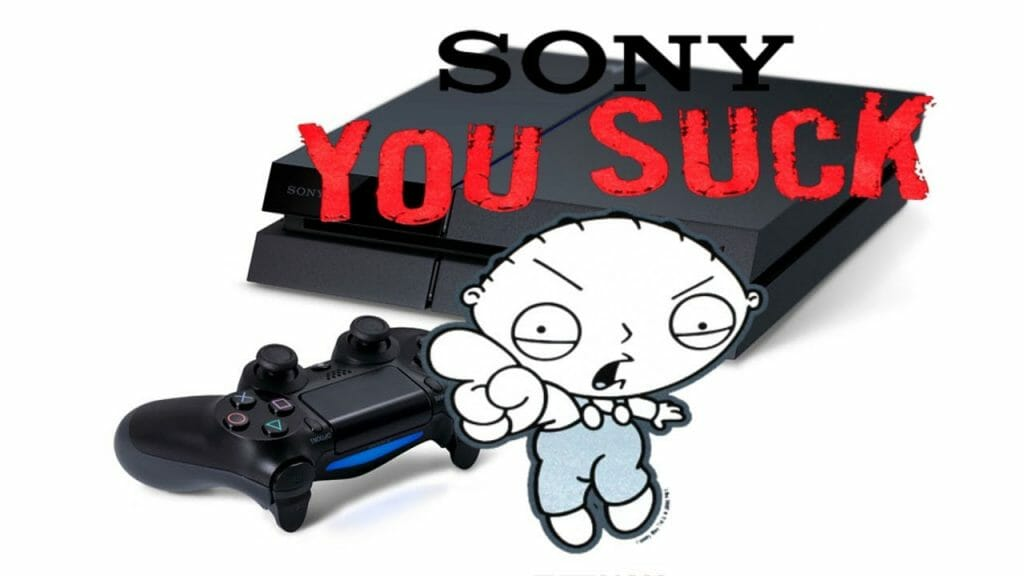 Parents Beware: Playstation4 is not suitable for kids