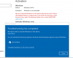 Fix Windows 10 deactivated itself after Update