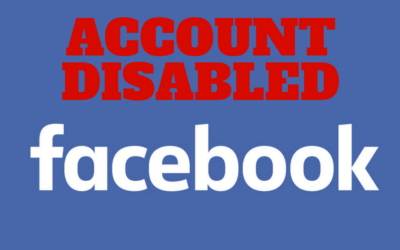 My Facebook account was disabled, WTF?