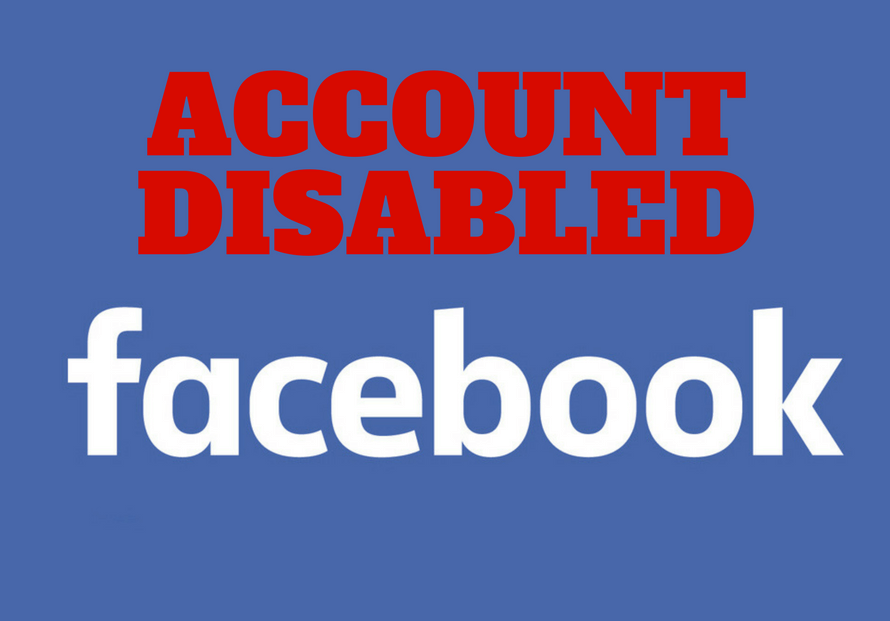 My Facebook account was disabled, WTF? 1