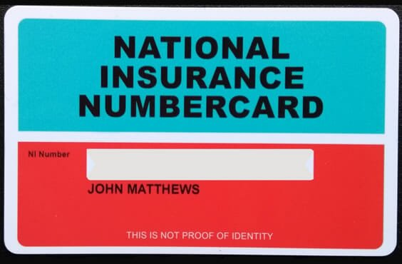 National Insurance Number Scam