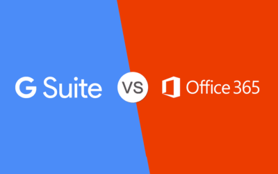 G Suite vs Microsoft 365 Comparison