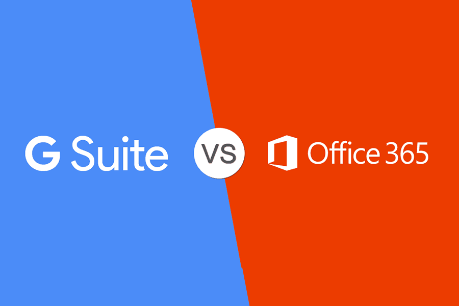 g suite vs Microsoft 365