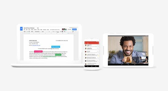G Suite collaboration tools