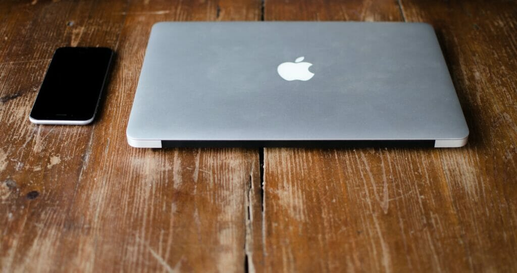 Boost Macbook's Performance - pic of mac and iphone